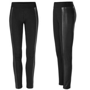 Women's CAbi Berkeley Leggings 3397 black leather